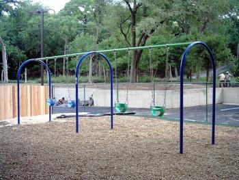 Toddler 2 Bay Arched Swing